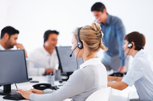 call center rail: